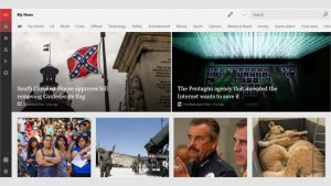 best news and magazine apps for PC; Microsoft news