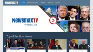best news and magazine apps for PC; newsmax tv
