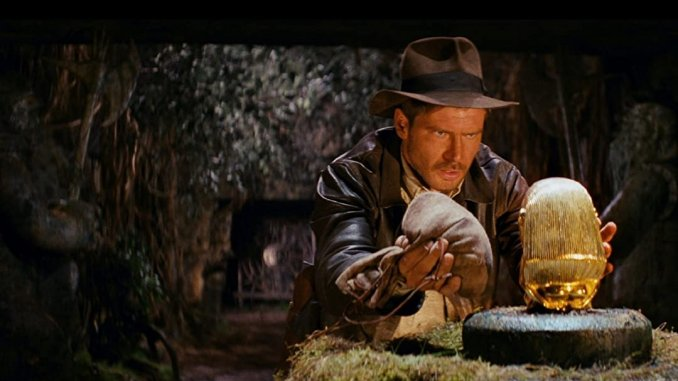 most entertaining movies in the world; Raiders of the Lost Ark