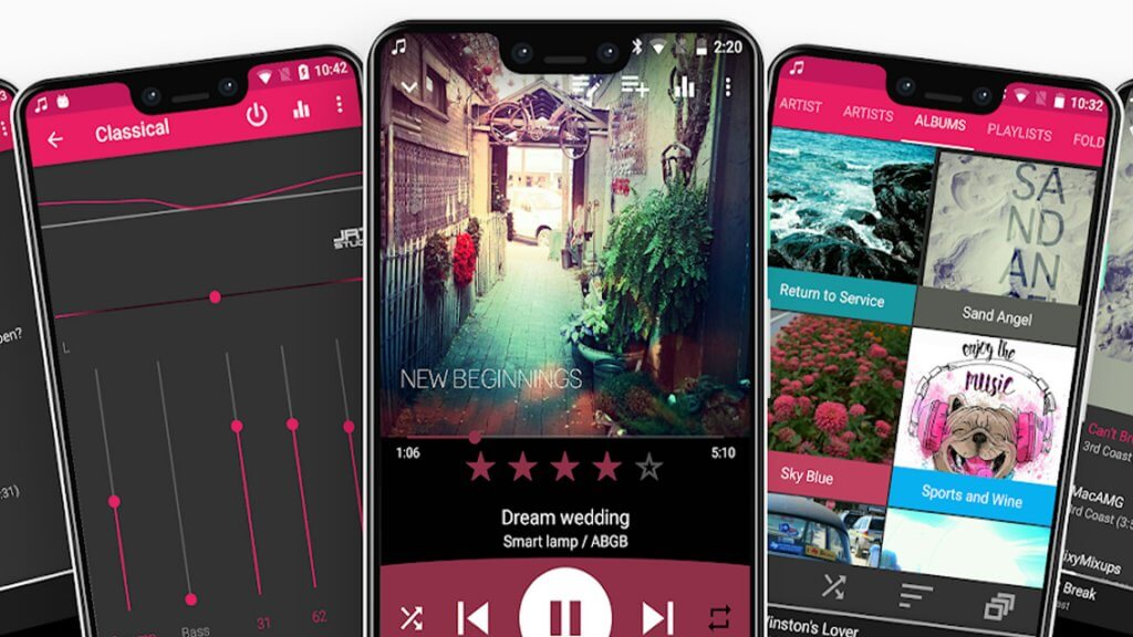 best music player apps 2021