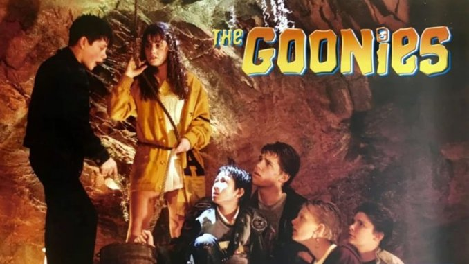 most entertaining movies in the world; The Goonies