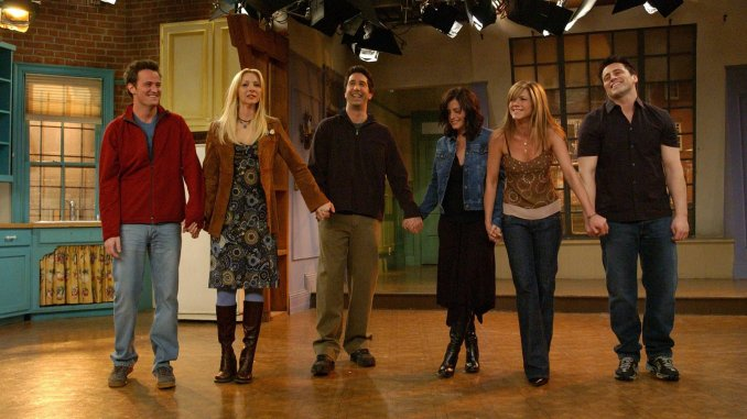 most interesting facts about the Friends TV Series; The Opening Credits Are A Lie