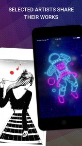 best personalization apps for iOS 2021; Walli - Cool Wallpapers HD
