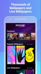 best personalization apps for iOS 2021; Zedge