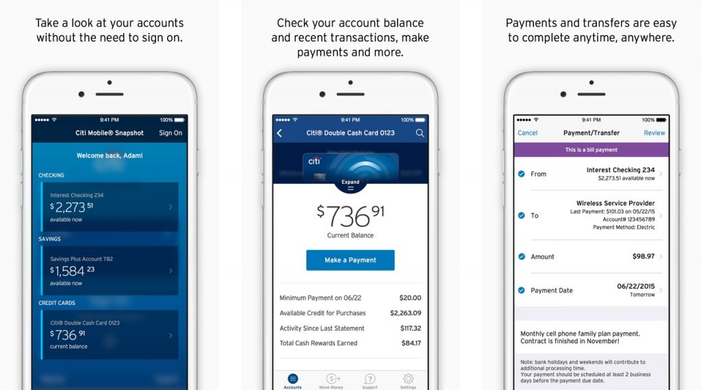 best iOS mobile banking apps 2021;