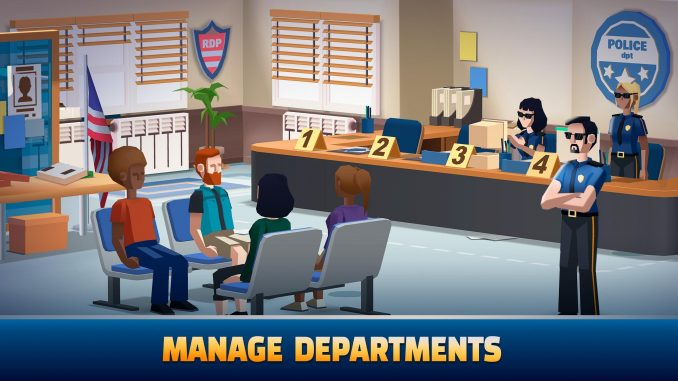 best tycoon games for Android; idle police tycoon