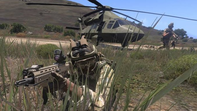Best realistic games for PC 2021; Arma 3