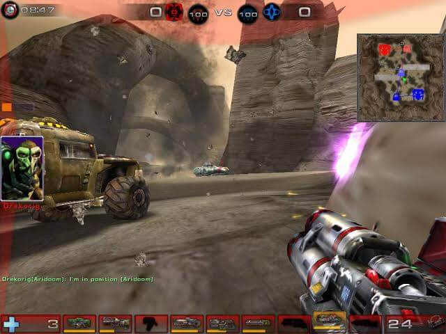 Best editor choice games for PC 2021; Unreal Tournament 2004