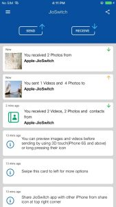 best apps to transfer files from android to iOS 2021; JioSwitch