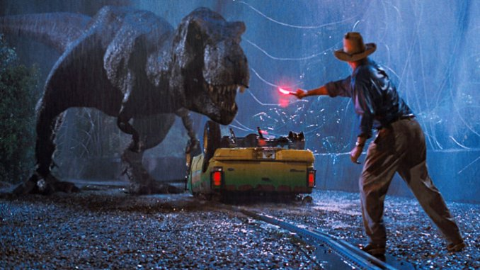 most entertaining movies in the world; Jurassic Park