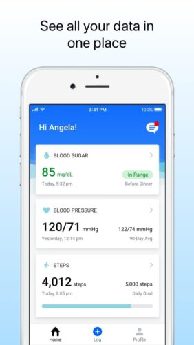 best medical apps for iOS in 2021; livongo