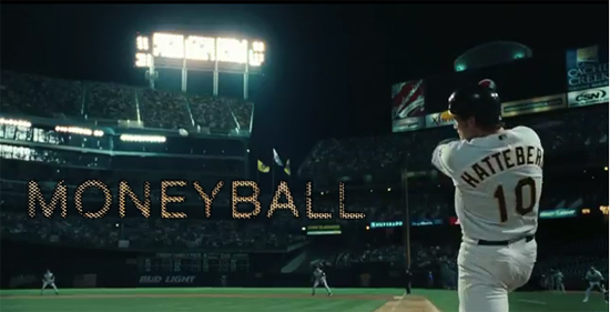 most entertaining movies in the world; moneyball