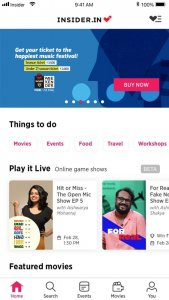 Best Event Apps for iOS in 2021; Paytm Insider