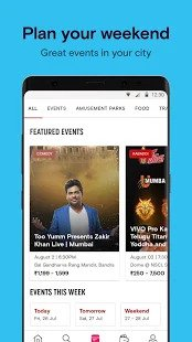 best event apps for android 2021; paytm insider