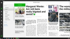best news and magazine apps for PC; press reader