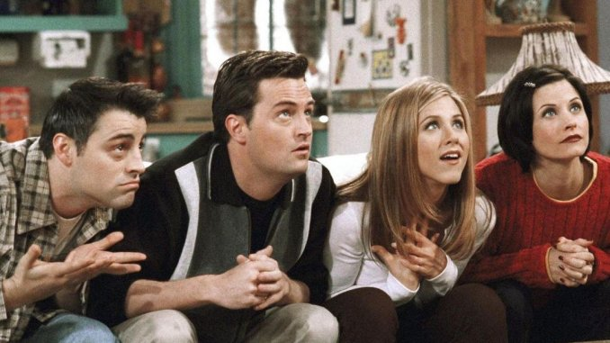most interesting facts about the Friends TV Series; It Started With Only Four Friends