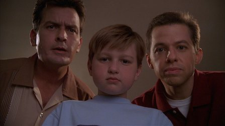 best english tv series to improve language skills; two and a half men