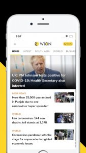 Best news and magazine apps in 2021; Wion