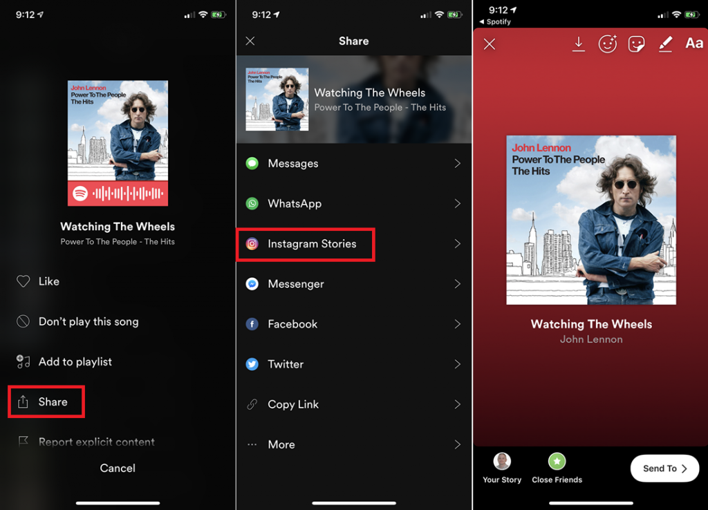 How To Share Spotify Playlist on Instagram