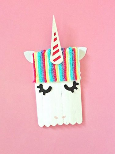 Popsicle Stick Bunny; Best Easter Craft Ideas For Kids