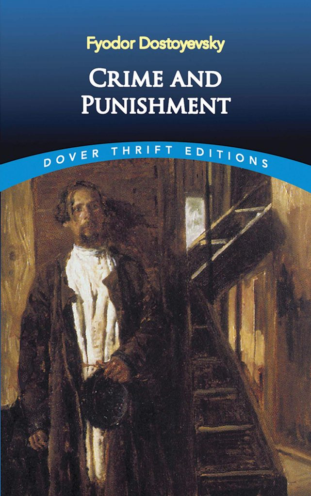Best Books by Fyodor Dostoevsky- crime and punishment