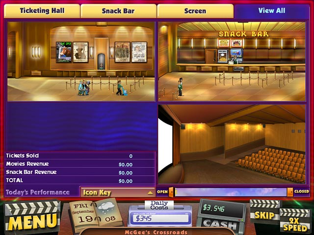 Best Tycoon Games for iOS - Cinema Tycoons