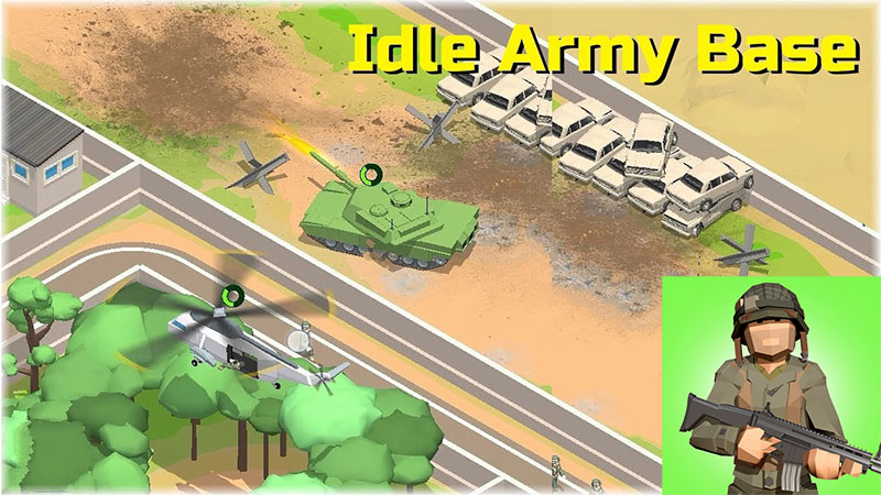 Best Tycoon Games for iOS - Idle Army Base