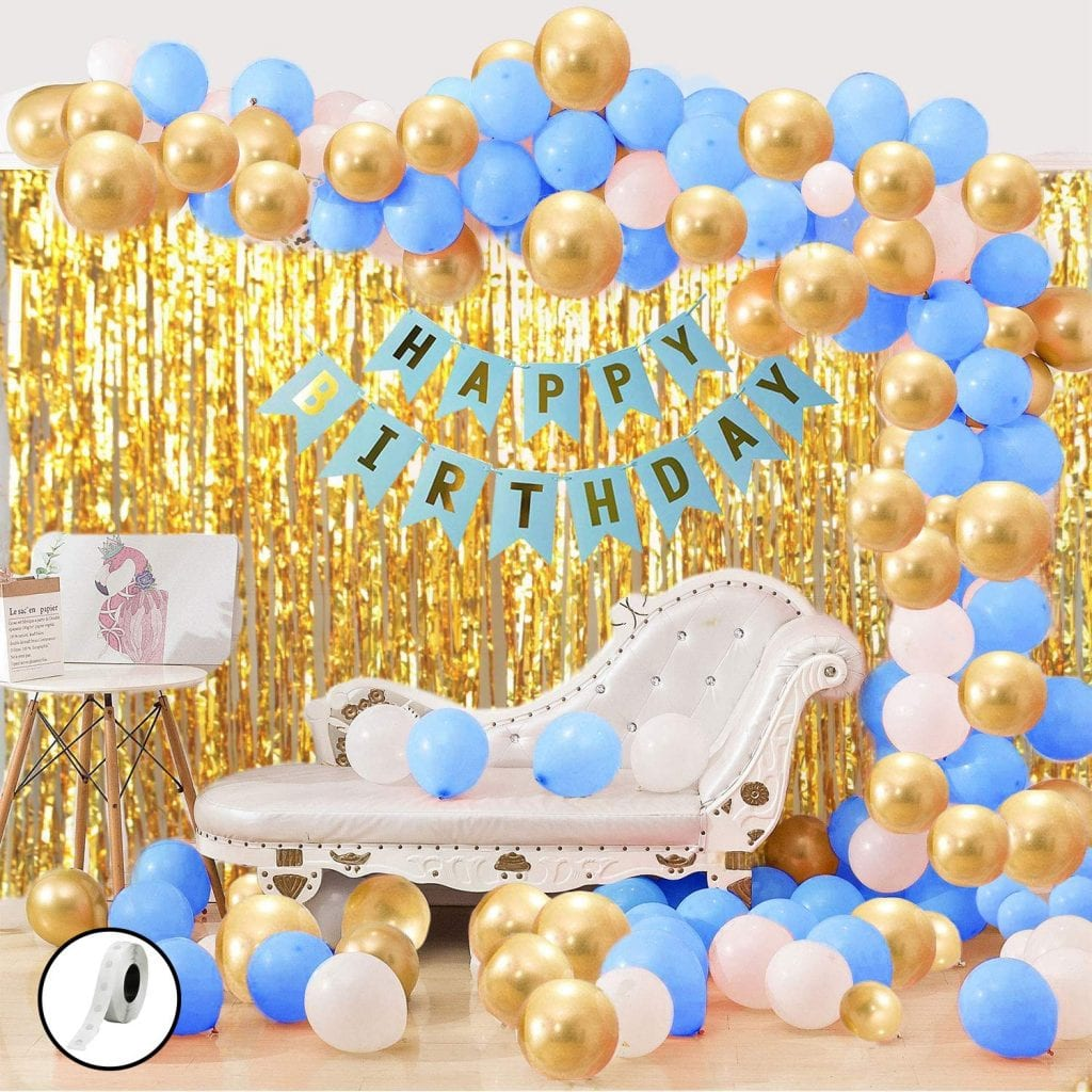 Birthday Party Decoration Ideas - ballons