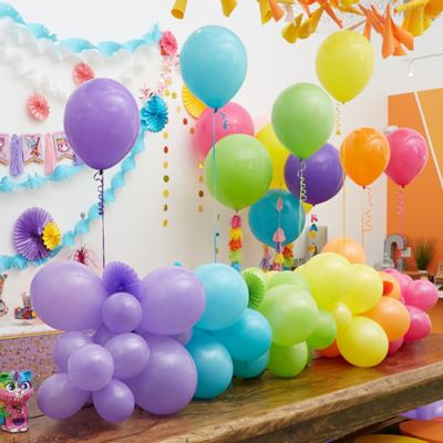 Birthday Party Decoration Ideas - cherry colored ballon