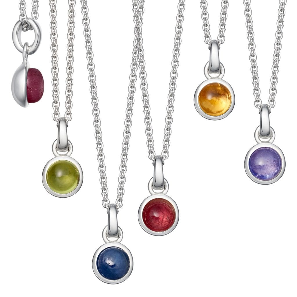 Mother's day gift ideas in 2021-Birthstone Necklace.