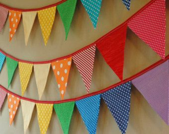 Bithday party ideas - buntings
