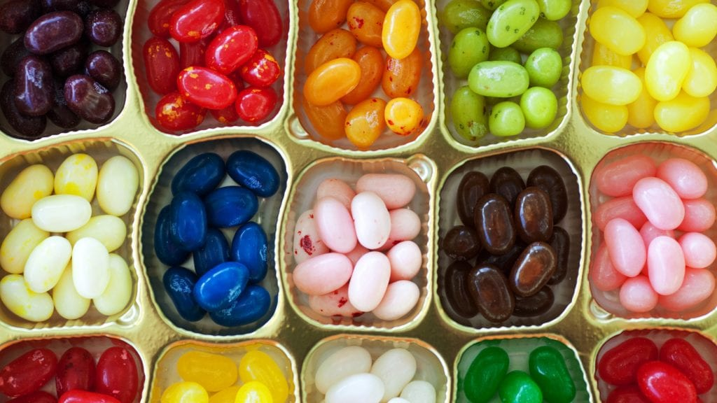 Best easter hunt ideas- Boozy Jelly Beans