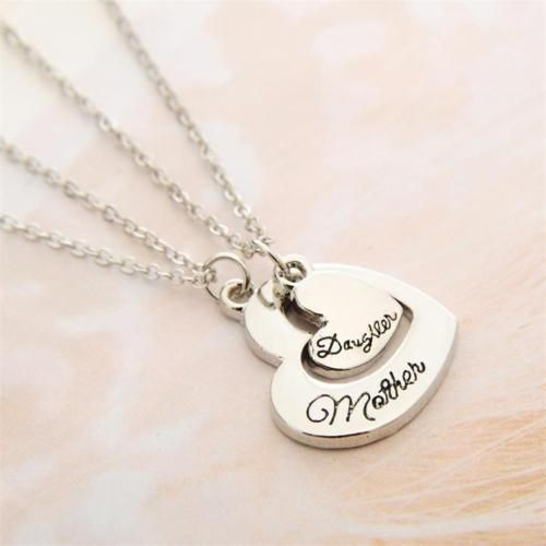 Mother's day gift ideas-Charm Necklace for Mom