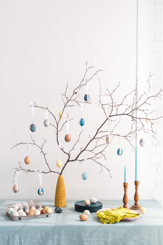 Decorate an Easter Egg Tree; best easter's activities