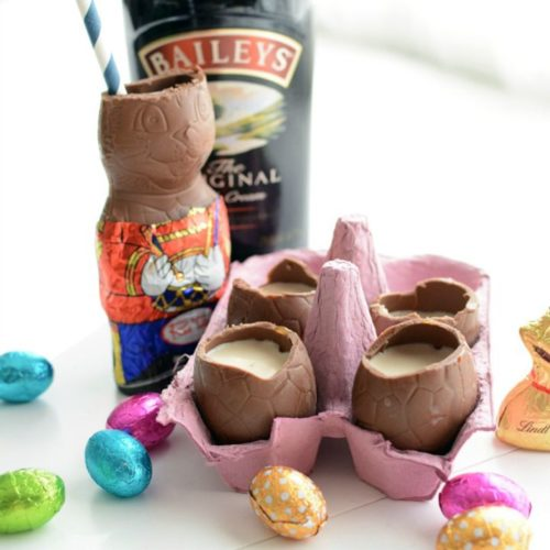 Easter Party Ideas- easter shots