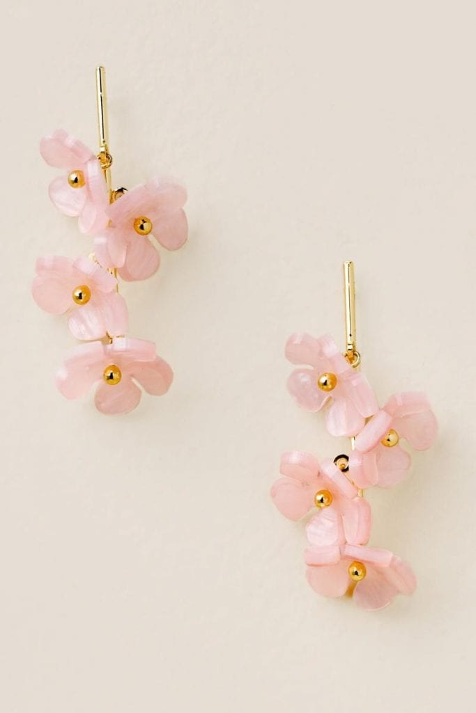 Mother's day gift ideas in 2021-Floral Earrings