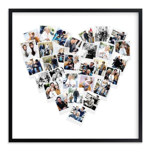Mother's day gift ideas in 2021; Heart-Shaped Snapshot Mix