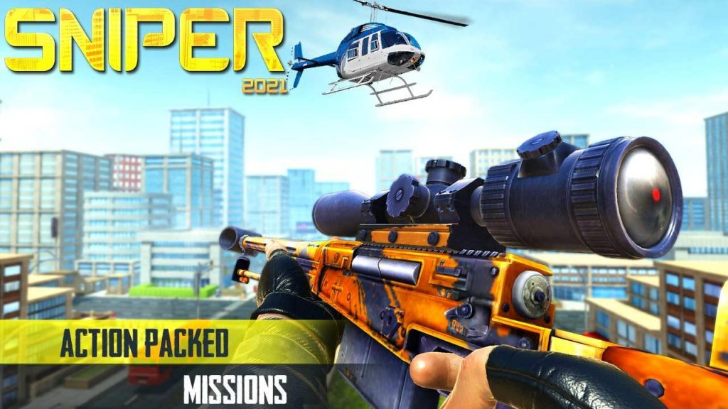 New Released Android Games- sniper 2021