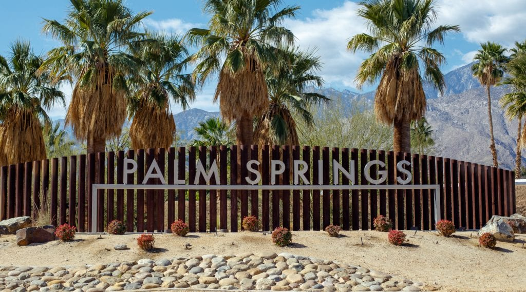 spring break ideas during covid; Palm Spring