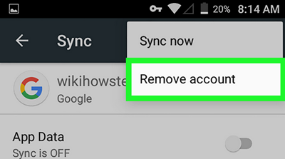 Sign Out Gmail From Android