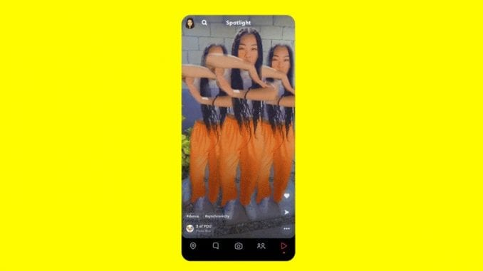 After Tik-Tok and Insta Reels, the New Snapchat Spotlight Feature is on Trend