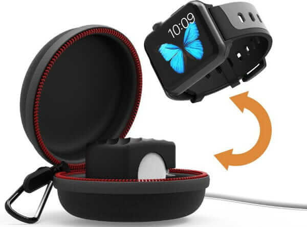 Best Apple Watch Accessories Series 5; Travel Case for your Apple Watch/All in one charger
