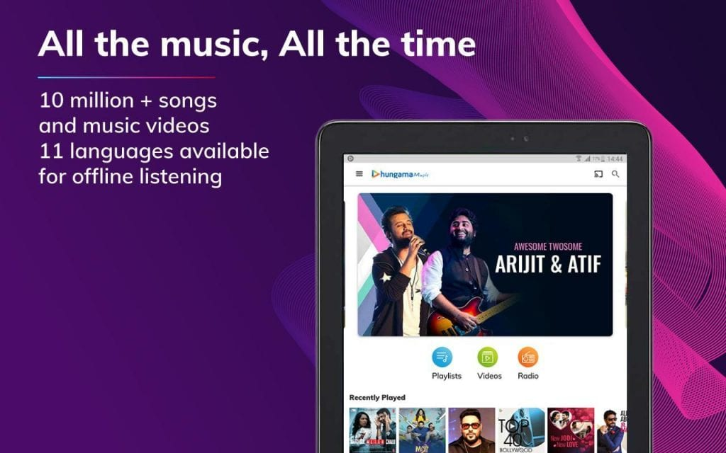 best music streaming apps for android in 2021;