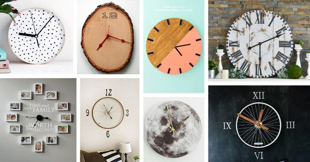Mother's day gift ideas in 2021-DIY Clock