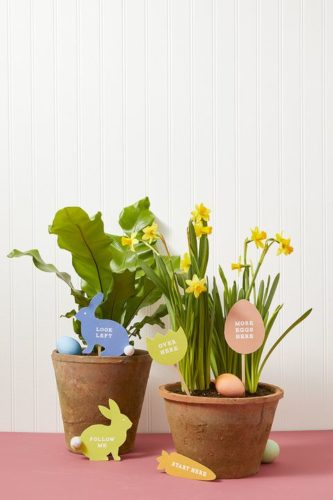 Plant Flowers; best easter's activities
