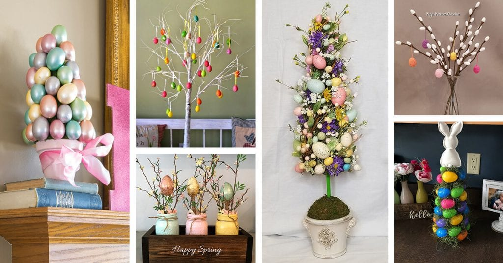 Best Easter Activities-Easter Tree Decorating