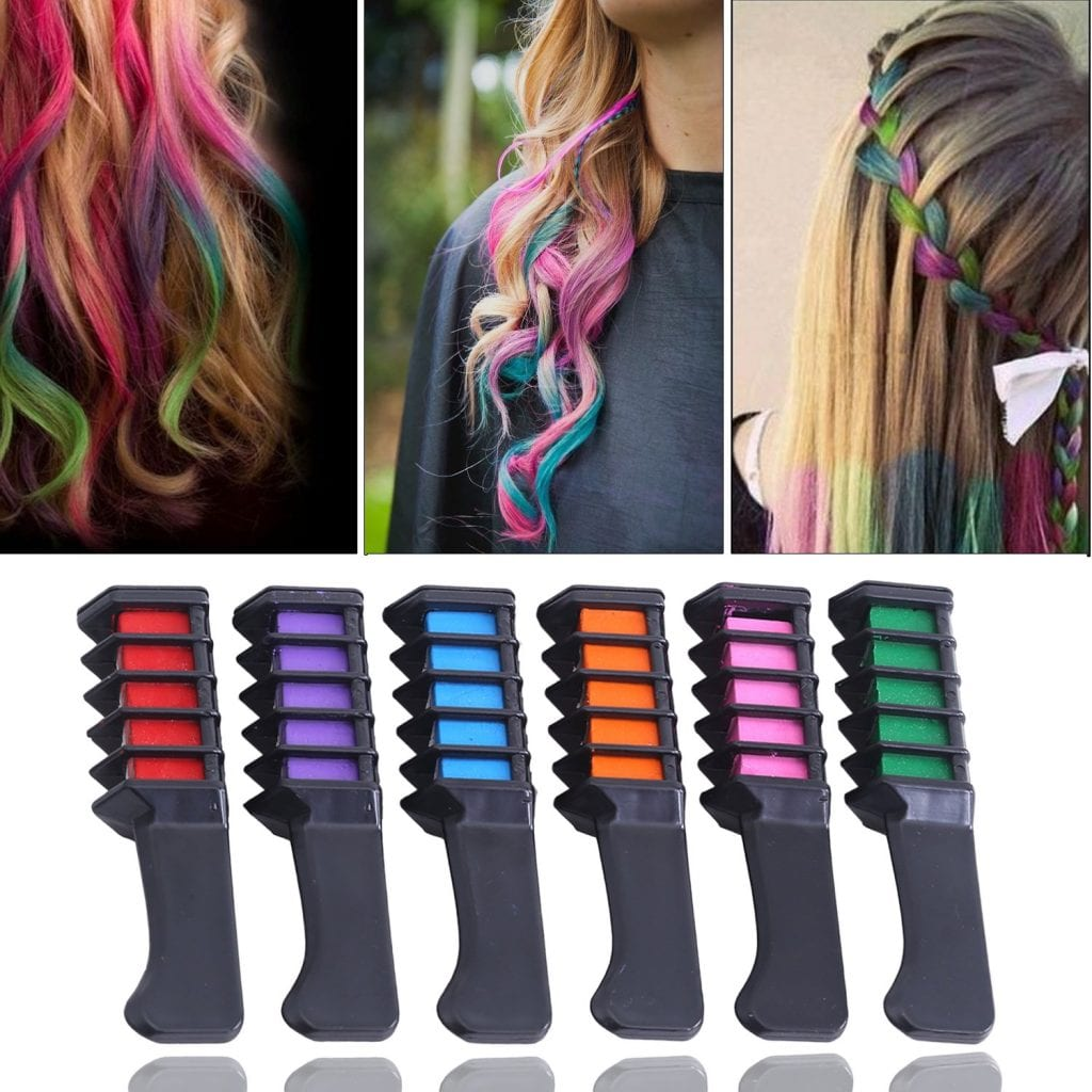 easter party ideas- hair coloring