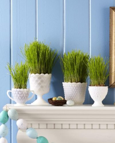 Easter Grass Display; Best Easter Craft Ideas For Kids
