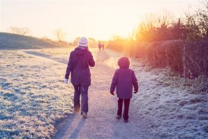 Go on a walk; what to do when you are bored at home