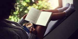 Read a book; what to do when you are bored at home